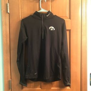 Iowa Hawkeyes Nike 1/4 Zip